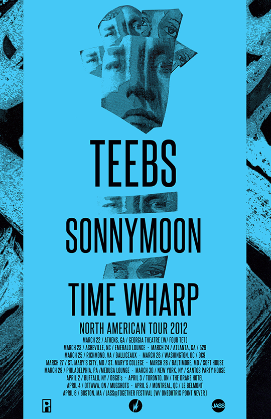 Teebs, Sonnymoon and Time Wharp - North American Tour 2012